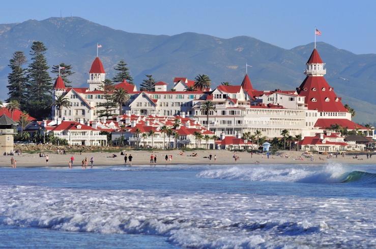San Diego Hotel Del Coronado - Coronado Island.